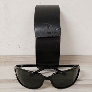 Prada Black Sunglasses With Case